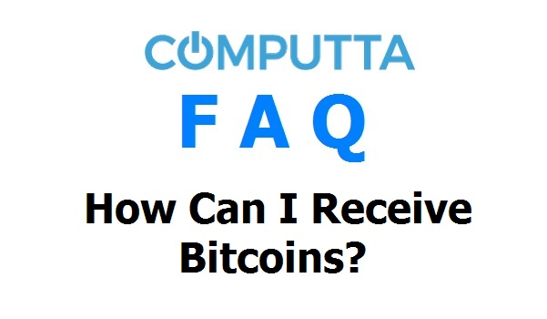 How To Receive Bitcoins
